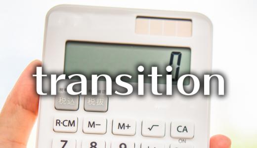 CSS:transitionでのゼロの解釈